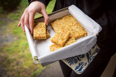Curry Apricot Bars