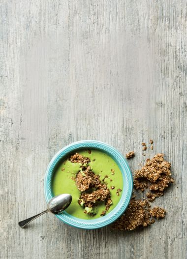 Super-Seed Green Smoothie Bowl
