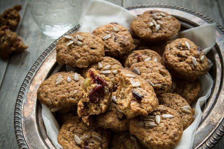 Trail Mix Mini Muffins