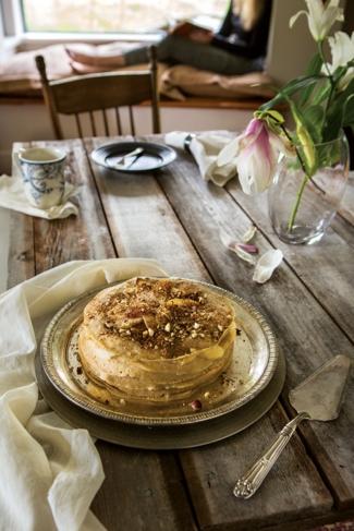 Apple Pie Crepe Cake