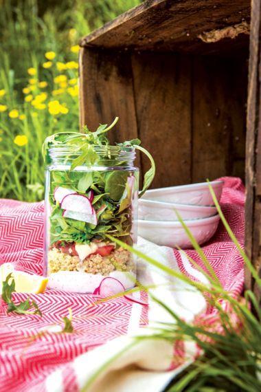 Gravlax Salad Jars