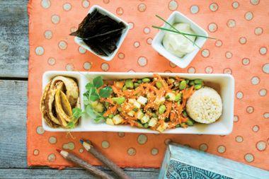 """Socca """"Tamago"""" Sushi Bento Box"""