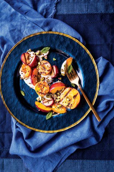 Grilled Stone Fruit Salad