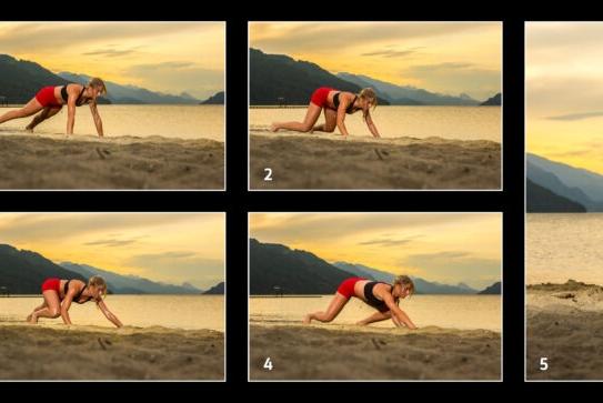 Komodo Dragon Crawl/ Crab Walk