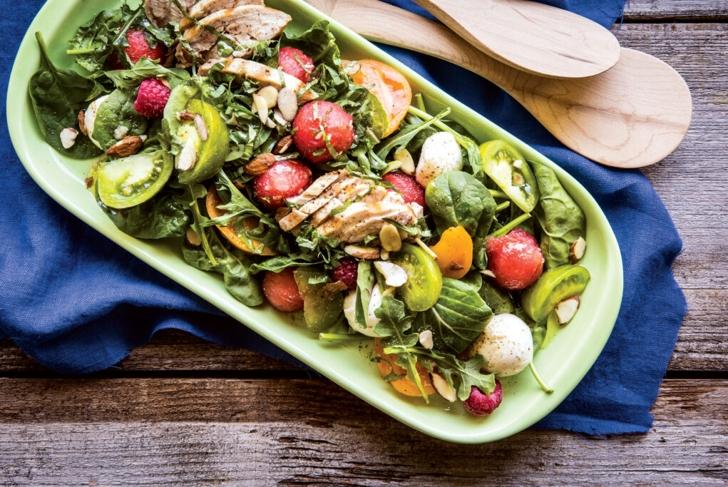 Berry Melon Chicken Salad