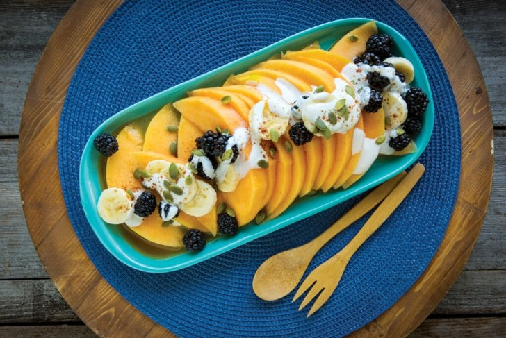 Cantaloupe Fruit Salad