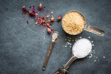 Sweet Cardamom Rose Salt