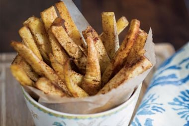 Moroccan-Spiced Parsnip Fries