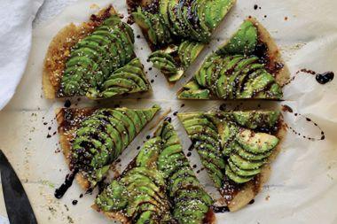 Avocado Flatbread Appetizer