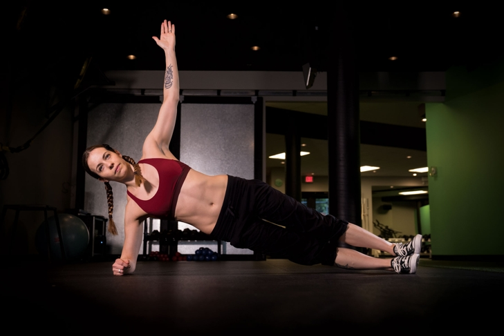 Plant-Powered Core Fitness