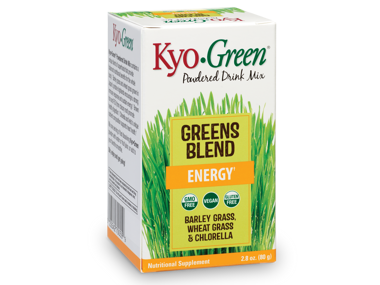 Green Means Go With Kyo-Green Greens Blend!