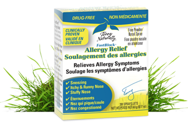 Enter to Win 1 of 3 FastBlock ®  Allergy Relief Products!