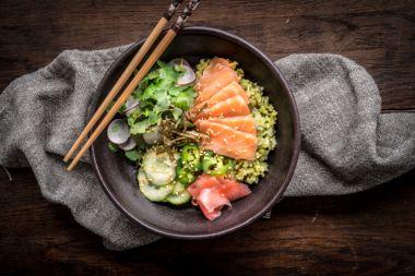 Matcha Sushi Bowl