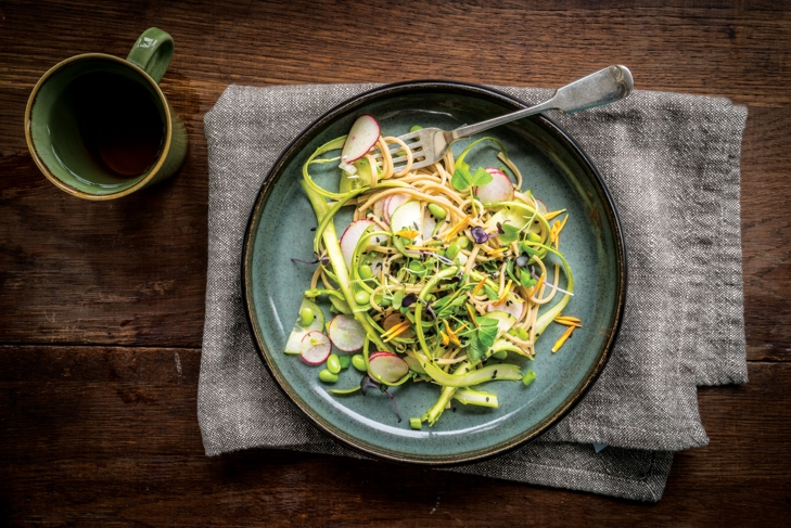 Matcha Soba Salad