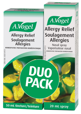 Don't Let Seasonal Allergies Ruin Your Life—Be Prepared With A.Vogel's Allergy Relief Duo Kit!