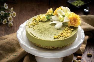 Matcha Pistachio Cake