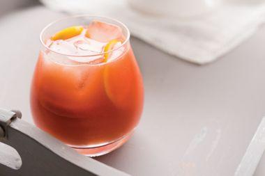 Blood Orange and Kombucha Cocktail