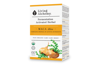 Win 1 of 4 Living Alchemy Maca Alive: Foundational Stress Support for the Modern Day!