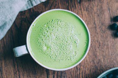 Hot Minute Matcha Green Tea Latte