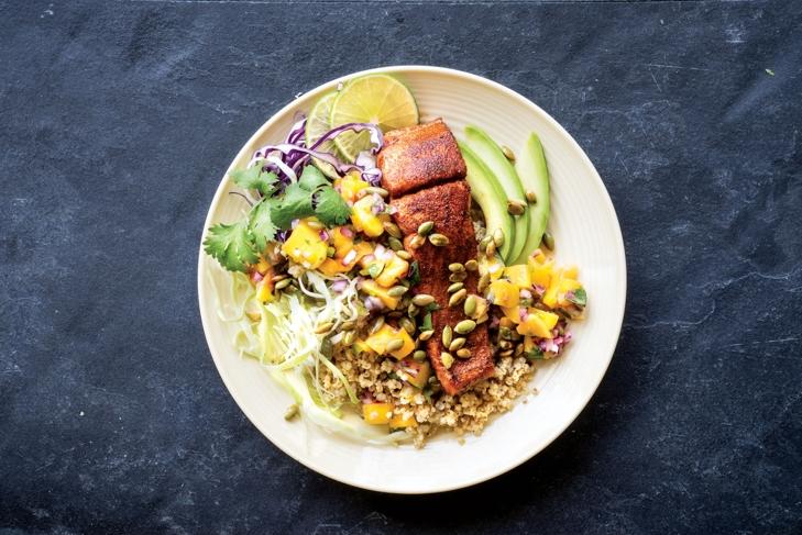 Fish Taco Bowl