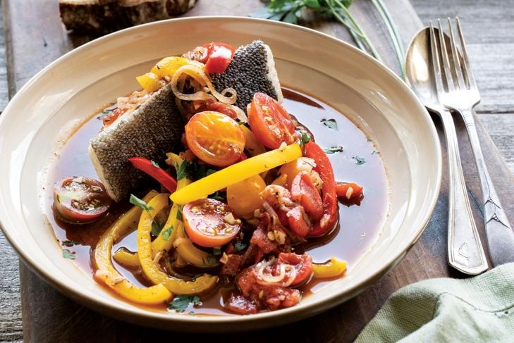 Tomato Braised Sablefish