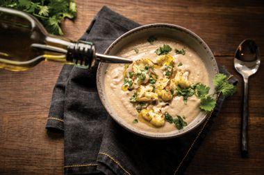Masala Cauliflower Soup