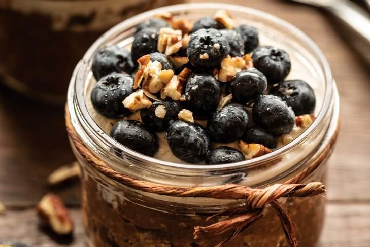 Blueberry Cheesecake Oats