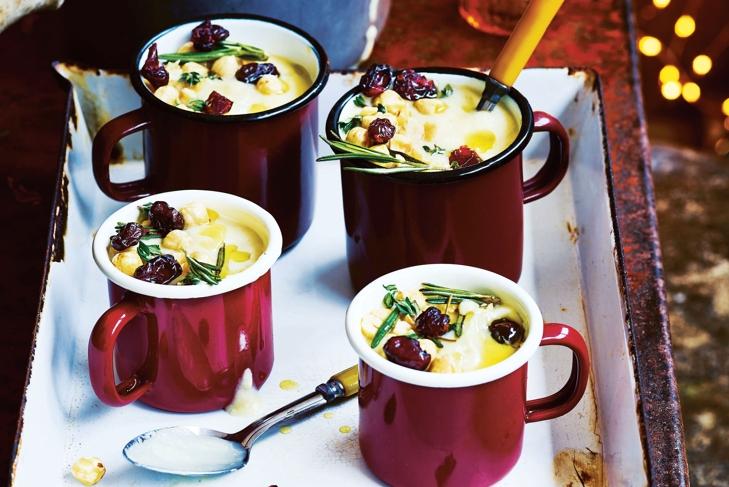 Parsnip & Vanilla Soup