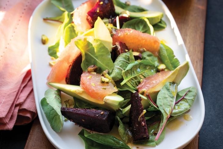 Maple Roasted Beet Salad