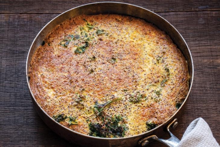 Quinoa Kale Frittata