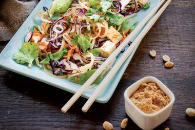Spicy Peanut Butter /Noodle-less Pad Thai