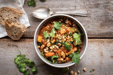 Spicy African Peanut Stew