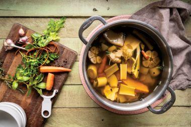Vegan Herbed Soup Stock