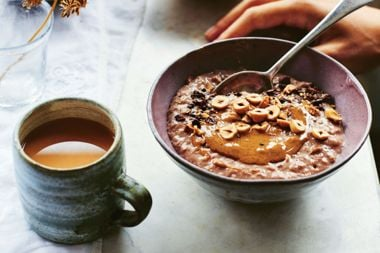 Hazelnut and Cacao Porridge