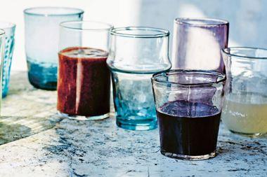 Blackberry, Ginger and Aloe Vera Elixir