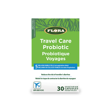 Got the Travel Bug? You'll Want to Win Flora's Travel Care Probiotic