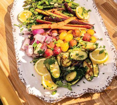 Glorious Grilled Veggies