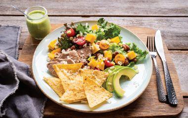 Pork Taco Salad