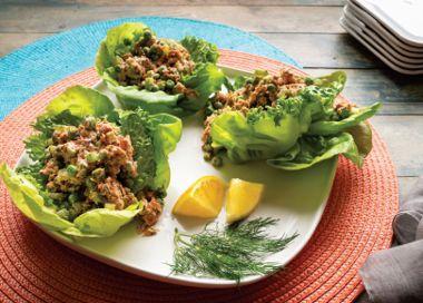 Deli-Style Salmon Lettuce Wraps