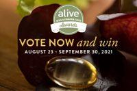 Vote Now in the 2021 alive Awards