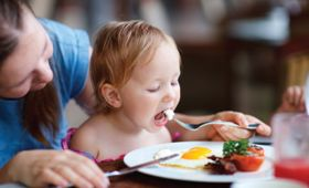 Healthy eating for a healthy child