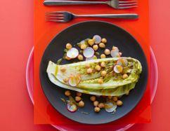 Radish Salad with Miso and Garlic CBD Vinaigrette