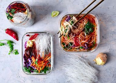 Busy Days Instant Noodle Bento