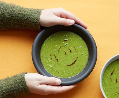 CBD Leek and Zucchini Soup