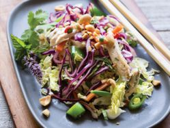 Thai Chicken Slaw