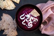 Beetroot and Coconut DipSpiced with Toasted Caraway Seeds and Chili