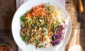 Winter Grains Thai Salad