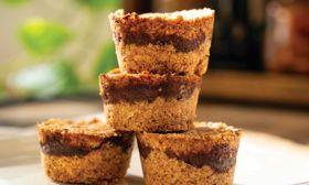 Delicious Mini Zesty Date Cakes