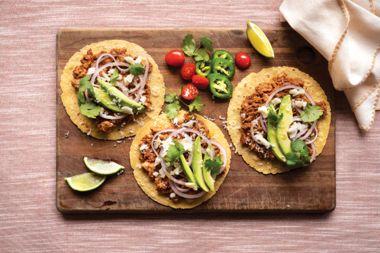 Tempeh Mole Tacos