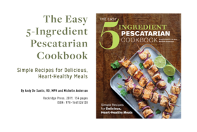 Book review: The Easy 5-Ingredient Pescatarian Cookbook